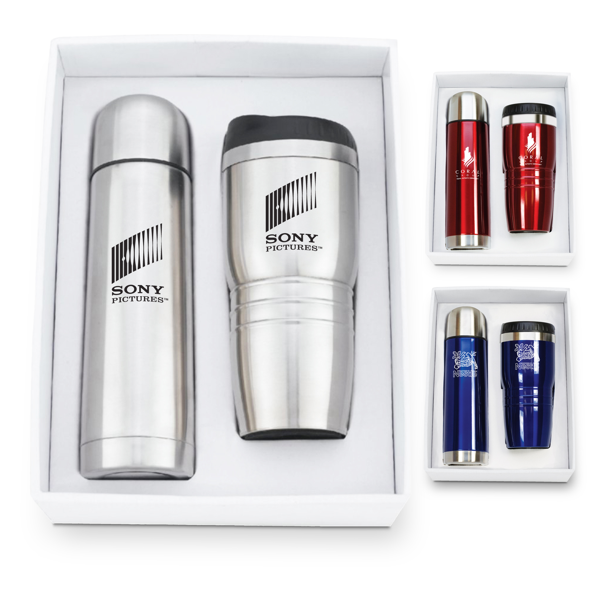 GT-51 Stainless Steel Tumbler & Thermos Set