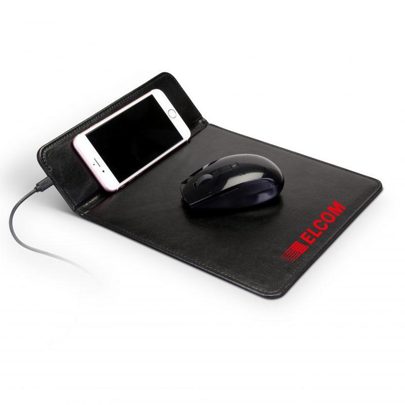 SJ-87 Leatherette Charging Mousepad