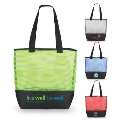 1234 Stripe - Mesh Weave Tote Bag GROUP