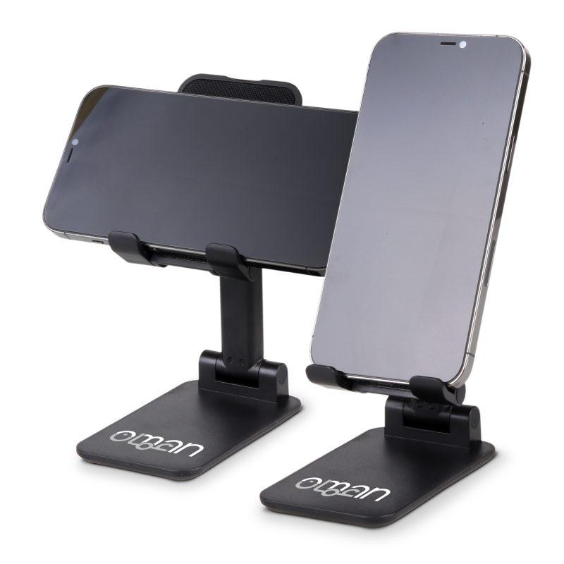 HF-07 Adjustable Desktop Cellphone Stand BLACK