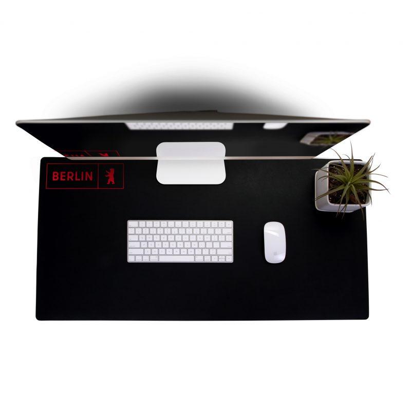 HF-11 Workstation Tabletop Mat - BLACK