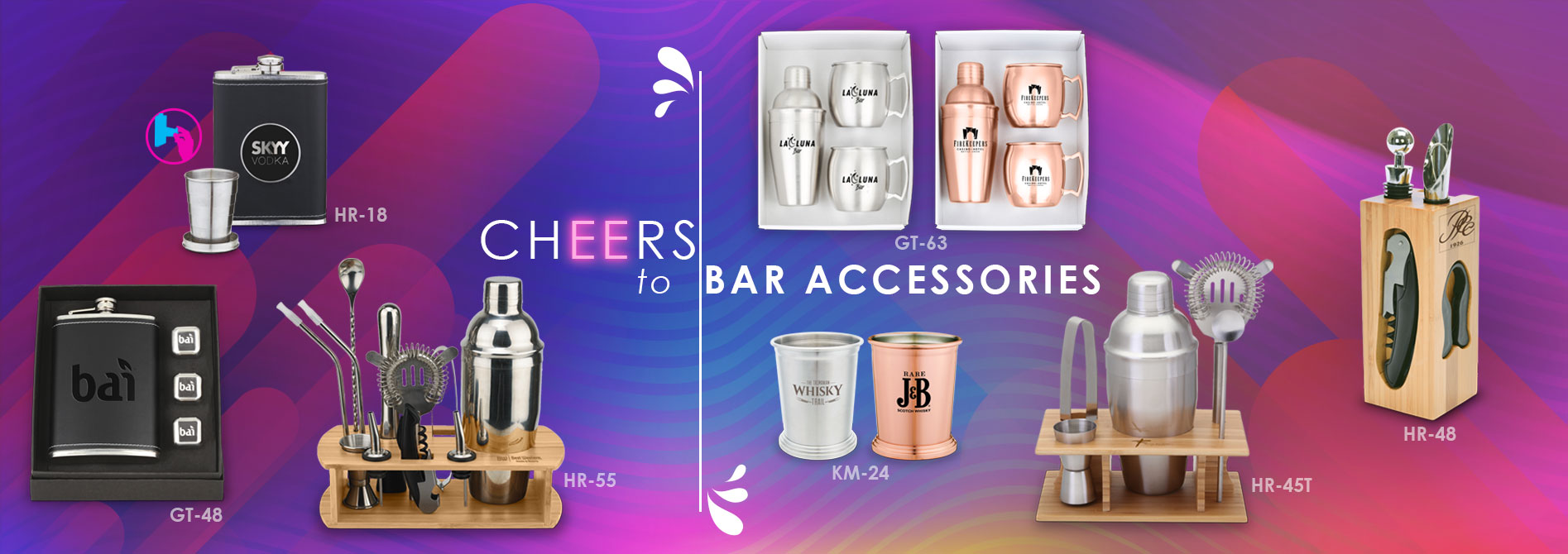 Cheers to Bar Accessories