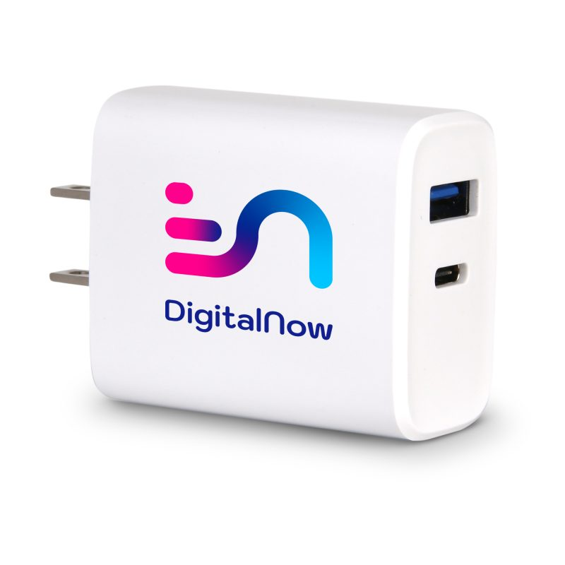 SJ-50 20W Dual Port PD Charger